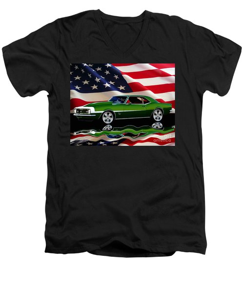 1968 Camaro Tribute Men's V-Neck T-Shirt