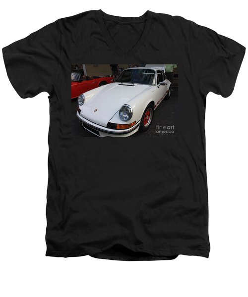 1973 Porsche Men's V-Neck T-Shirt