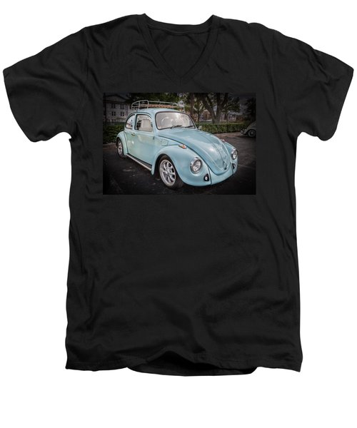 1974 Volkswagen Beetle Vw Bug Men's V-Neck T-Shirt