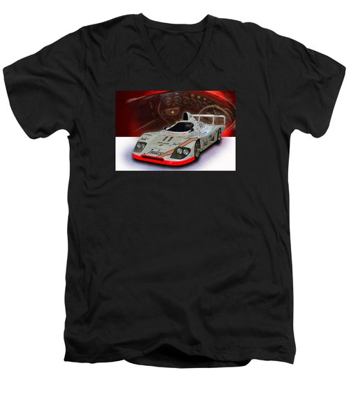 1981 Porsche 936/81 Spyder Men's V-Neck T-Shirt