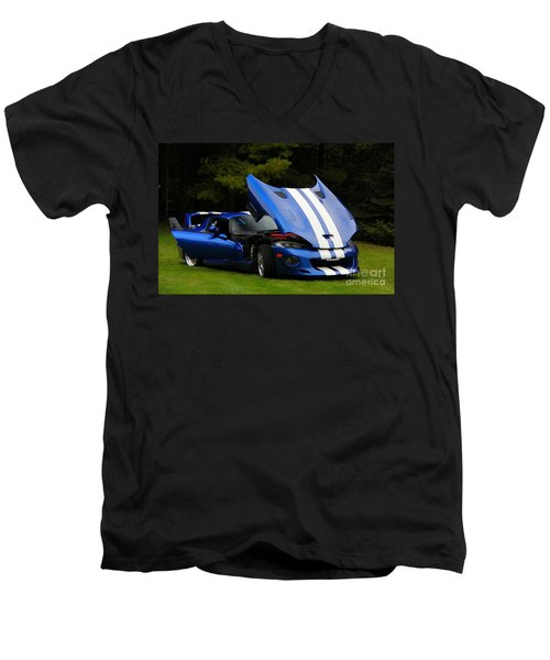 1997 Viper Hennessey Venom 650r 4 Men's V-Neck T-Shirt