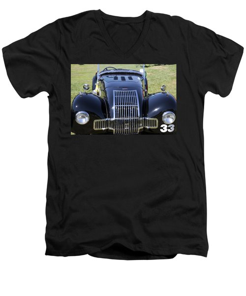 1947 Allard K1 Roadster Men's V-Neck T-Shirt