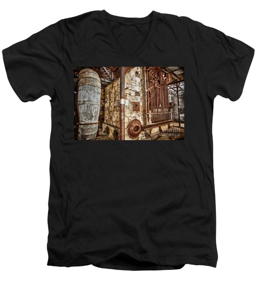 Abandoned Steam Plant Men's V-Neck T-Shirt