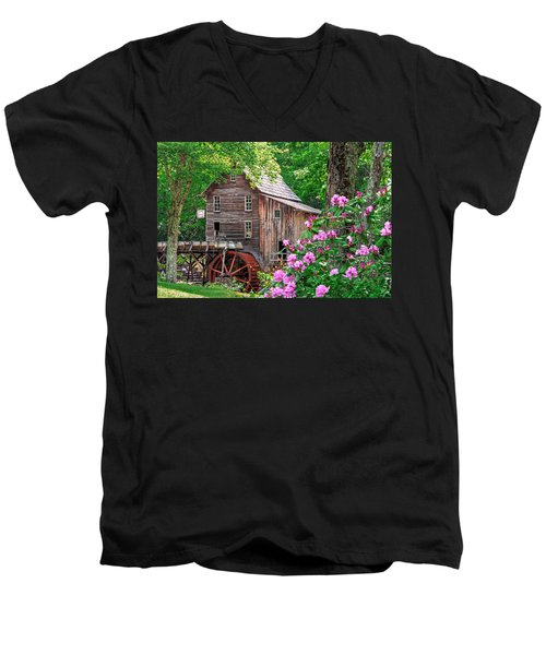 Babcock State Park Men's V-Neck T-Shirt