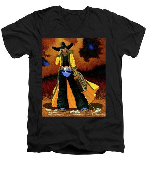 Bonnie Men's V-Neck T-Shirt