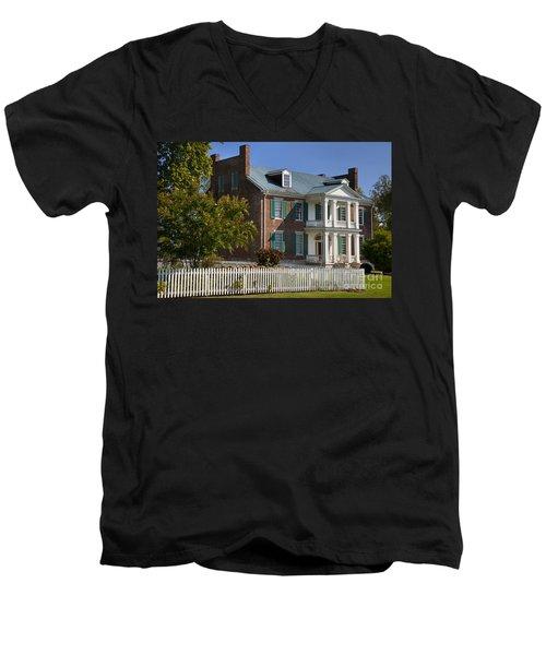 Carnton Plantation Men's V-Neck T-Shirt