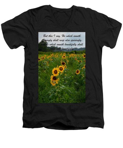 2 Corinthians Men's V-Neck T-Shirt