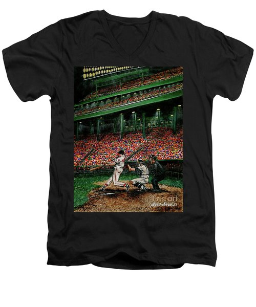 Derrek's Homerun Men's V-Neck T-Shirt