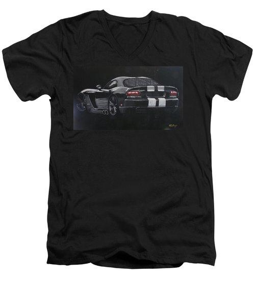 Dodge Viper 1 Men's V-Neck T-Shirt