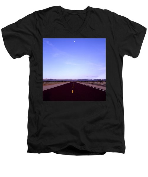 Escapism Men's V-Neck T-Shirt by Shaun Higson