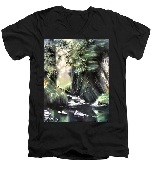 Fairy Glen Men's V-Neck T-Shirt