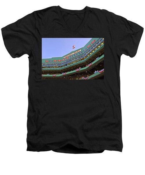Fenway's 100th Men's V-Neck T-Shirt