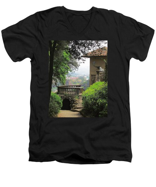 Garden View Men's V-Neck T-Shirt