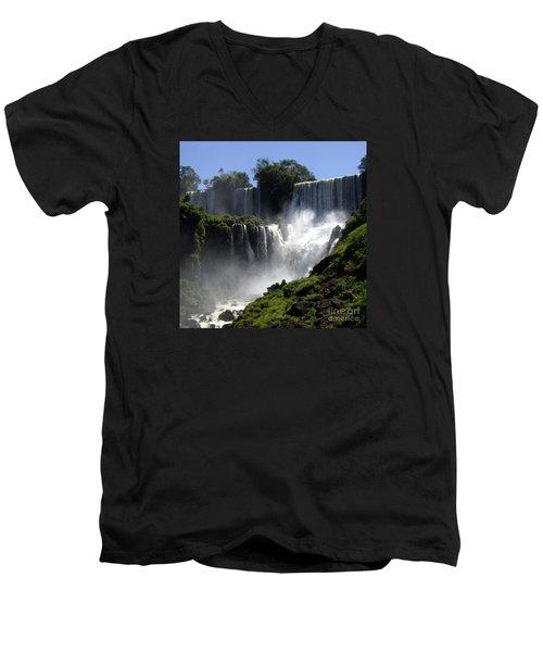 Iguassu Falls Men's V-Neck T-Shirt