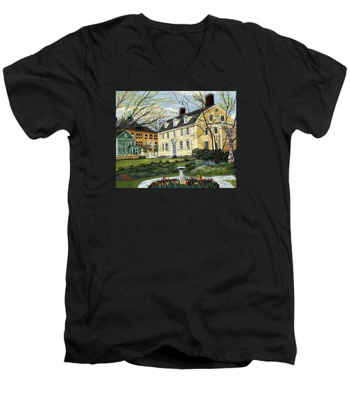 John Paul Jones House Men's V-Neck T-Shirt