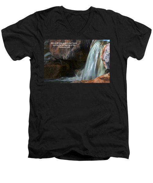 Life's Reflections Men's V-Neck T-Shirt