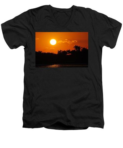 Marco Island Sunset Men's V-Neck T-Shirt
