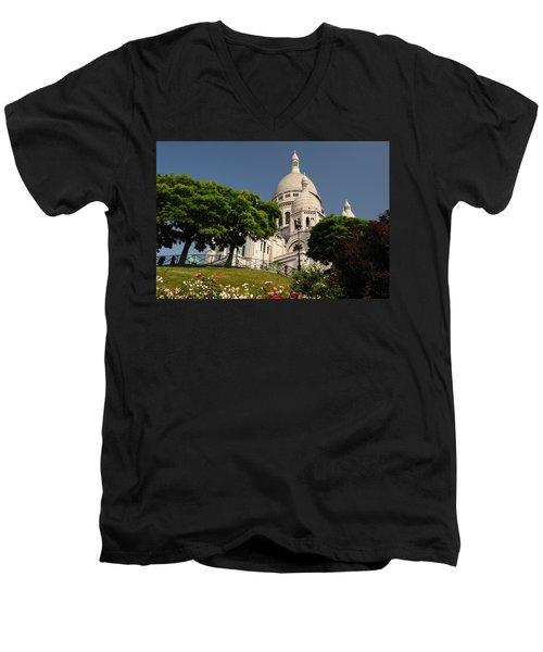 Sacre Coeur Men's V-Neck T-Shirt