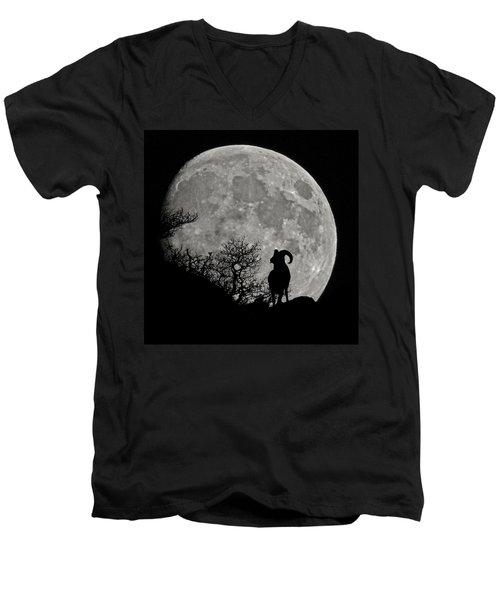 The Big Horn Men's V-Neck T-Shirt