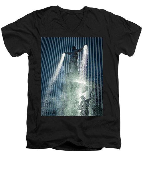 The Genius Of Water  Men's V-Neck T-Shirt