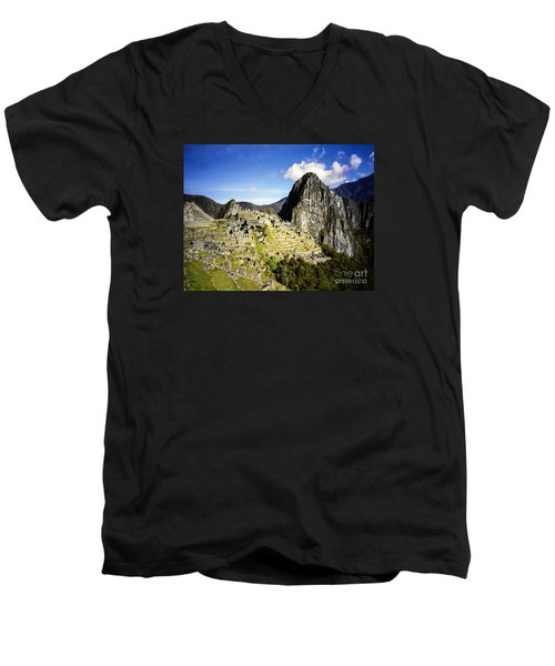 The Lost City Men's V-Neck T-Shirt