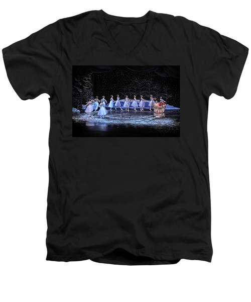The Nutcracker Men's V-Neck T-Shirt