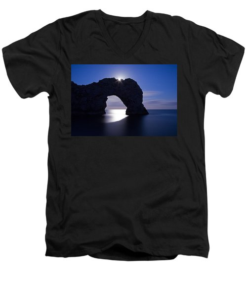 Under The Moonlight Men's V-Neck T-Shirt