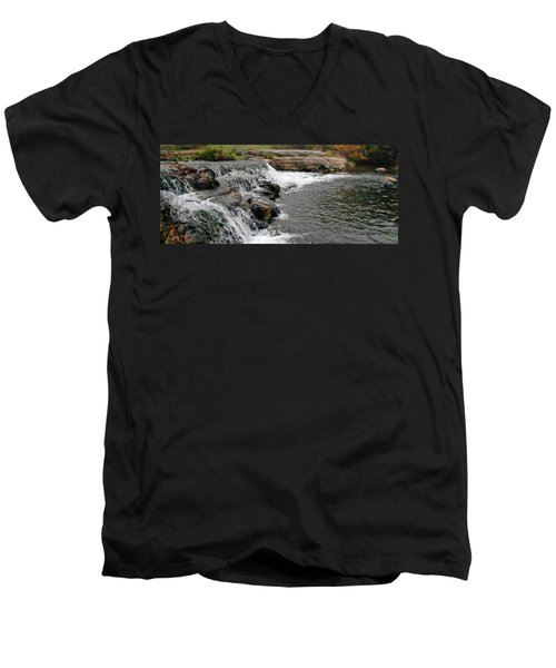 Spring Creek Waterfall Men's V-Neck T-Shirt