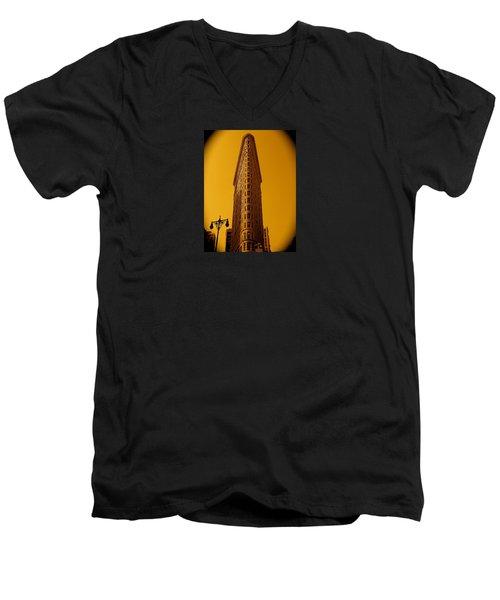 23rd Street And Broadway Men's V-Neck T-Shirt