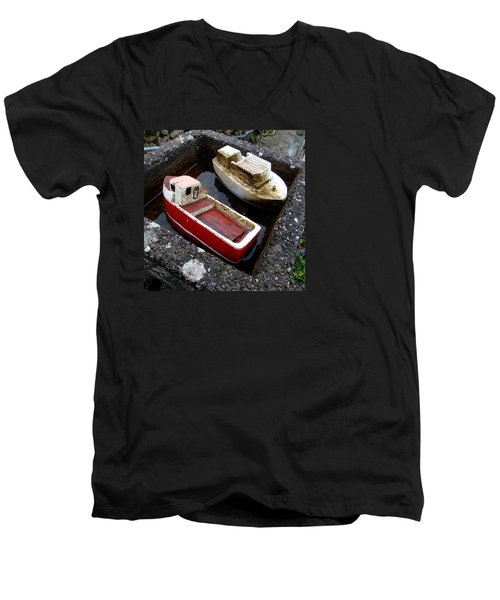 Priv Men's V-Neck T-Shirt