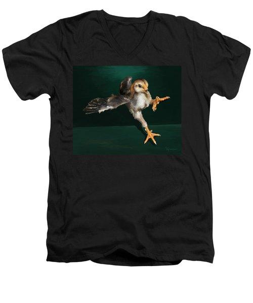 29. Yamato Chick Men's V-Neck T-Shirt