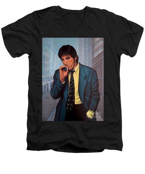 Al Pacino 2 Men's V-Neck T-Shirt