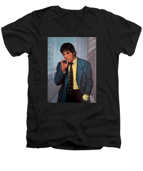 Al Pacino 2 Men's V-Neck T-Shirt