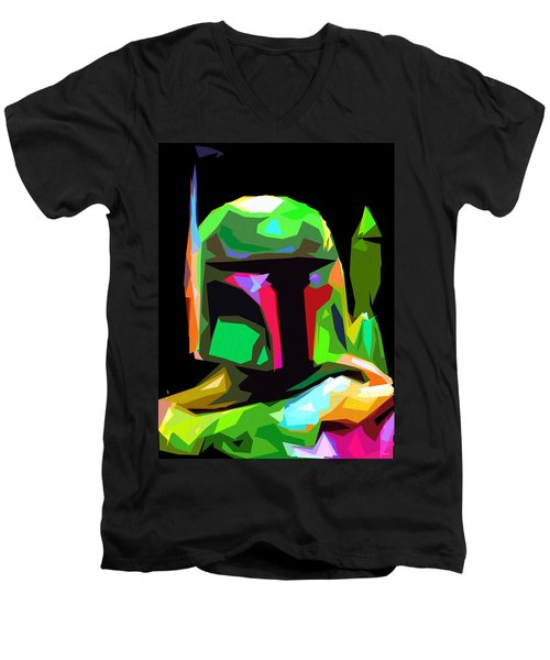 Boba Fett Star Wars Men's V-Neck T-Shirt
