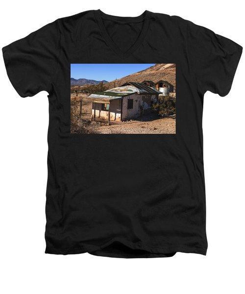 Death Valley Men's V-Neck T-Shirt by Muhie Kanawati