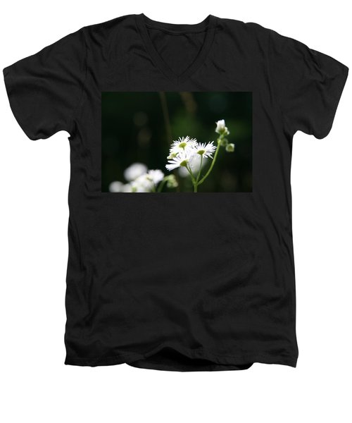 Men's V-Neck T-Shirt featuring the photograph Enlightened  by Neal Eslinger