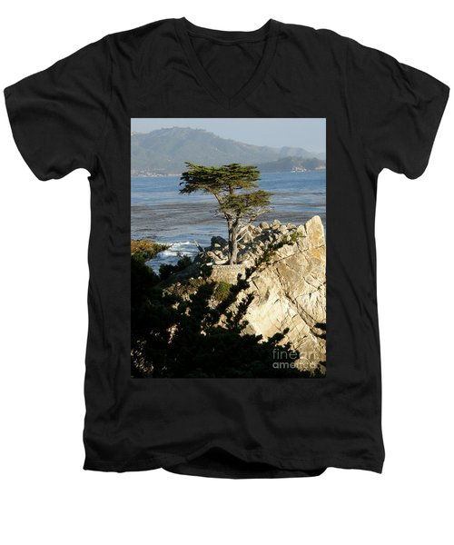 Lone Cypress Men's V-Neck T-Shirt