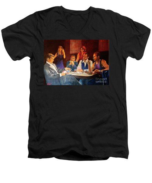 Pokertable Men's V-Neck T-Shirt