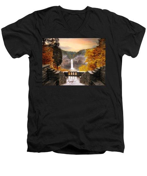 Taughannock Falls Men's V-Neck T-Shirt