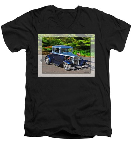 32 Ford Men's V-Neck T-Shirt