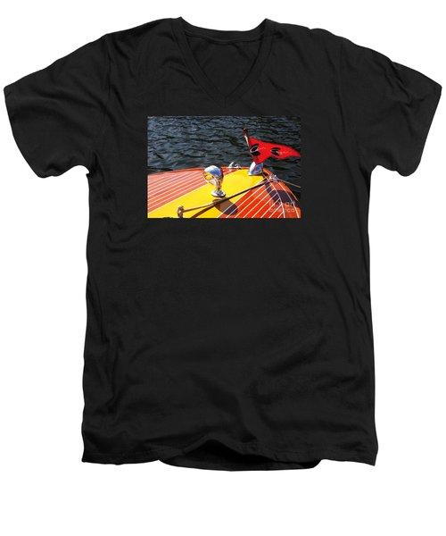 C. C. Continental Men's V-Neck T-Shirt