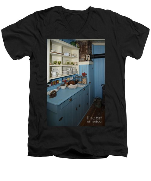 Heritage Cottage Museum On Bowen Island Men's V-Neck T-Shirt