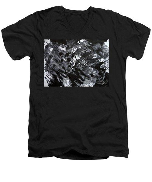 Third Image Men's V-Neck T-Shirt