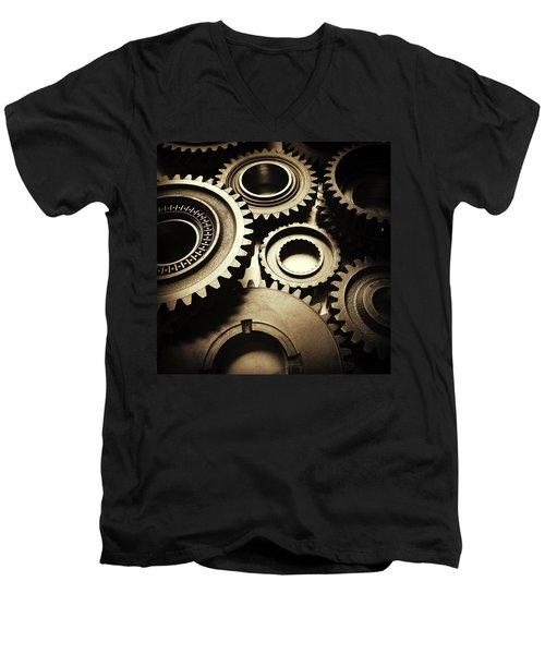 Cogs No2 Men's V-Neck T-Shirt