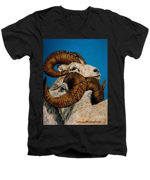 Horns Men's V-Neck T-Shirt