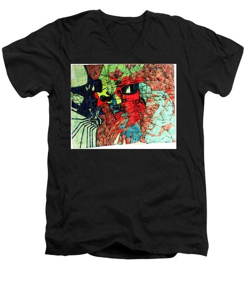The Holy Family Men's V-Neck T-Shirt