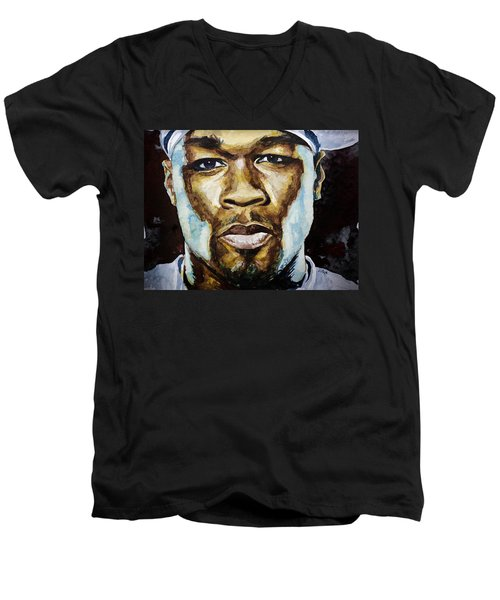 50 Cent Men's V-Neck T-Shirt