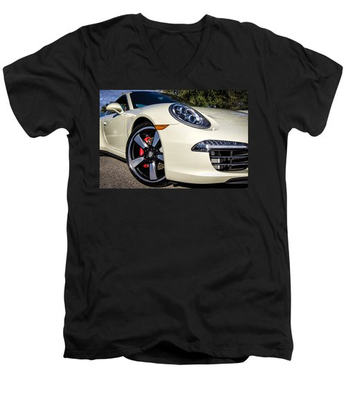 50th Anniversary Porsche 911 Men's V-Neck T-Shirt