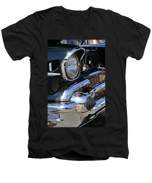 '57 Chevy Men's V-Neck T-Shirt