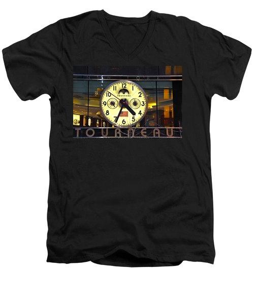 57th Street And Madison Avenue Men's V-Neck T-Shirt